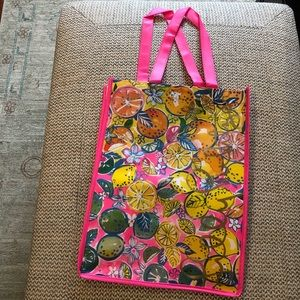 Lilly Pulitzer sturdy reusable shopper/gift bag